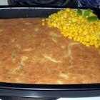 Ruby's Special Cornbread - This zesty cornbread gets its flair from jalapenos, onion, garlic and bell peppers.  Grated cheese adds a nice creaminess to the otherwise nubby texture.