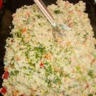 Classic Crab and Shrimp Salad - A classic seafood combination of crab meat and cooked shrimp is combined with chopped bell pepper, celery, and fresh dill in a simple mayonnaise dressing that lets seafood flavors shine.