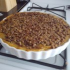 Squash Casserole with Crunchy Pecan Topping Recipe