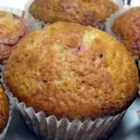 Lemon-Raspberry Muffins - My family celebrates Christmas and Easter with a really big brunch. It's getting harder and harder to find new recipes, so I made this one up. My family loves berry muffins, and these rate among our favorites.