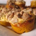 Pumpkin Cream Cheese Muffins - Pumpkin muffins with a cream cheese filling.