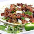 Arrachera (Skirt Steak Taco Filling) - Skirt steak is marinated in beer and seasoned with sazon to make this grilled taco meat filling.
