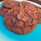 Chocolate-Hazelnut Spread Cookies - These delicious, rich chocolate-hazelnut cookies are crispy on the outside and chewy on the inside.