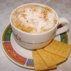Pumpkin Spiced Latte - Use a blender to whip up this frothy pumpkin spice flavored latte made with double-strength brewed coffee, milk, sugar, vanilla extract, and pumpkin pie spice.