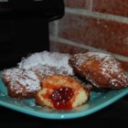 Sufganiyot - This is a traditional Jewish holiday recipe. Sufganiyot--jelly doughnuts--are commonly served during the Hanukkah season.