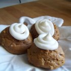 Extra Easy Pumpkin Cookies - When the craving for pumpkin cookies hits in October or anytime, bake these spicy treats in a flash using a boxed spice cake mix, applesauce, canned pumpkin, and traditional spices. Frost with a simple confectioners' sugar or cream cheese icing if desired.