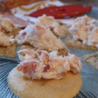 Lobster Dip - This exciting dip is sure to go quickly! The rich flavor of lobster meat is blended with horseradish and onion in a creamy mixture that's always a big hit. Serve it with crackers or veggies.
