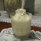 Frothy Eggnog - Good old-fashioned eggnog flavored with vanilla and rum extract. Be sure to make extra! This recipe contains raw eggs. We recommend that pregnant women, young children, the elderly and the infirm do not consume raw eggs.
