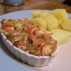 Hot Seafood Ramekins - Serve these mini seafood 'casseroles' as a first course or appetizer...crusty French bread rounds make an ideal accompaniment.