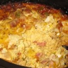 Slow Cooker Western Omelet - A great solution for busy mornings. Just put the ingredients in your slow cooker before going to bed, and it will be ready for breakfast.