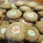 Angel Cookies II - These cookies literally melt in your mouth.  They are white, but can be tinted with food coloring in pastel colors if desired. They are irresistible.