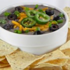 Black Bean Spread - Decidedly South-of-the-Border ingredients -including cumin, coriander and hot salsa -punch up this puree of hearty black beans.