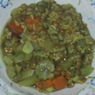 Lentil Curry Soup - This spicy soup is both filling and delicious. It's a good way to sneak some veggies into your diet. Serve with pita bread or chips.