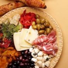 Antipasto - This recipe makes a huge amount. I can it and give it away as Christmas gifts. We usually make this as a group project to cut down on prep time and cost. The ingredient amounts may be altered proportionally as needed.