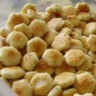Herb Oyster Crackers - Use your own herb mix to season oyster crackers for a great snack on Super Bowl Sunday, or anytime!