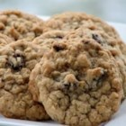 Oatmeal Raisin Cookies I - This moist and chewy oatmeal raisin cookie recipe makes the best version of an old favorite.