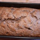Banana Date Flaxseed Bread - A moist and tender quick bread that's packed with fiber.
