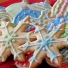 Mary's Sugar Cookies - This is an old fashioned sugar cookie with a hit of almond flavor. Cut into your favorite shapes with cookie cutters and sprinkle with colored sugar for special occasions.