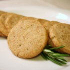 Rosemary Slices - When you want an elegant cookie or something nice for a fruit and cheese plate, try these delectable rosemary cookies. They're refrigerator cookies, so they can be made ahead of time and baked later.