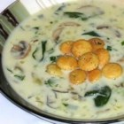 Oyster and Spinach Chowder - This is my take on the oyster stew that my mom used to make when I was a child.  I kind of gussied it up a bit by adding some fresh veggies, thickening the soup, and adding cheese.