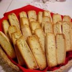 Italian Anise Toast - Anise cookie cooked in a loaf then sliced and toasted.