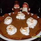 Dad's Pumpkin Chiffon Pie - Deliciously different pumpkin chiffon pie with a gingersnap crust!  My family has used this pumpkin pie recipe exclusively for all the 43 years I have been around! Originally submitted to ThanksgivingRecipe.com.