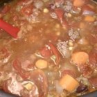 Hamburger Soup III - A wonderful soup that warms you up on cold day.