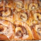 Best Ever Cinnamon Buns - Yellow cake mix is the secret to the success of these yeasted cinnamon buns. They make a rich, sweet breakfast treat.