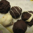 Easy Chocolate Truffles - One basic recipe with a variety of liqueurs and coatings to choose from.