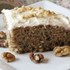 A-Number-1 Banana Cake - This is a very versatile and fast cake recipe. Not only is it moist and delicious, the same batter can be used to make banana bread and muffins. Delicious frosted with chocolate or cream cheese frosting.