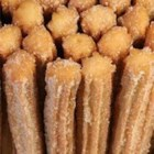 Churros I - These fritters use baking mix to shorten the prep time.