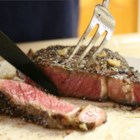 Italian Rib Eye - Fresh herbs, balsamic vinegar, and plenty of garlic flavor these juicy grilled ribeye steaks.