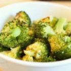 Roasted Garlic Lemon Broccoli - Broccoli florets are roasted after being tossed in olive oil and sprinkled with sea salt, freshly ground black pepper, and minced garlic. A squeeze of lemon juice before serving seals the deal.