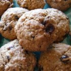 Oatmeal Raisin Cookies X - Tasty, crispy  oatmeal cookie with raisins.