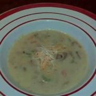 Marilyn's Cheesy Clam Chowder - A little different twist on an old favorite...cheese makes the difference! Substitute half and half cream for a richer chowder.