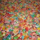 Fruity Krispy Treats - Vary your usual crispy cereal treat bars by using fruit-flavored cereal and marshmallows.