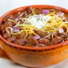 Nicole's Accident Chili - I call this my accident chili because I tried to find a great chili recipe and couldn't, so I just started adding things and by accident it was great. If you are looking for a sweet or spicy recipe this is not it. This is just a traditional good recipe.