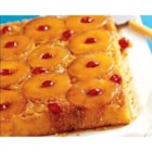 Pineapple Upside-Down Cake II - This recipe was given to me by a good friend in Hawaii.  She always uses fresh pineapple, the end product is delicious.  Very yummy served with ice cream or whipped cream as an accompaniment.