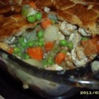 All-Natural Chicken Pot Pie - A crust seasoned with cinnamon and nutmeg helps elevate this chicken pot pie recipe to new heights.