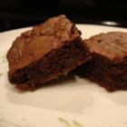 Triple Fudge Brownies - These are wonderfully fudgy brownies. Best served slightly warm from the oven, but still great tasting the next day.