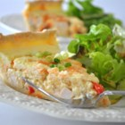 Sour Cream Chicken Quiche - This creamy breakfast quiche is a delightful treat.