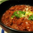 Chili con Carne III - Ground beef and kidney beans are seasoned with garlic, oregano, cumin, and chili powder to make a chili that's packed with flavor.