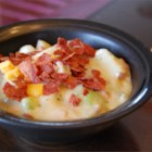 Golden Potato Soup - This is a thick, hearty soup.  Kids love this because of the cheesy flavor.