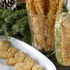 Cheddar Cheese Straws - These light, dry sticks of bread, rich with Cheddar and a bit of cayenne, make wonderful appetizers.