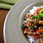 My Hoppin' John - A thick, hearty stew of black-eyed peas, ham, and rice, this beloved Southern specialty is well-known for bringing good luck to all who eat it on New Year's Day.