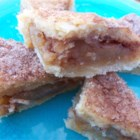 Apple Pie Bars - Easy and delicious. Great for a party or just as a snack. A wonderful way to use apples.