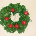 Holly Christmas Cookies - We've been making these cookies for years.  They are colorful, festive, and delicious.