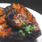 Tasty Orange Chops - A blend of apple cider vinegar, soy sauce and frozen orange juice concentrate is spiced up with onion, garlic, rosemary, sage and barbecue sauce to make a sensational overnight marinade for pork chops.