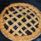 Fresh Blueberry Pie I - It's obvious that blueberries favor lemons once you make this classic pie. Fresh lemon juice and lemon zest are spooned over the sweetened berries, and then this berry filling is piled into a pastry crust, dotted with butter, covered with a top crust and baked.