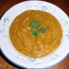 Yellow Dhal - Sweet Potato Soup